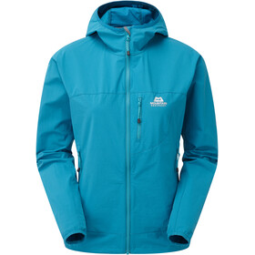 Mountain Equipment Echo Capuchon Jas Dames, tasman blue